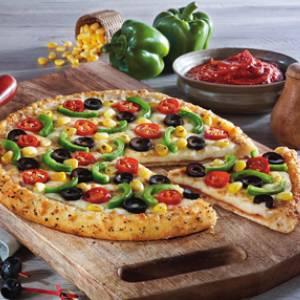 Indian Tandoori Vegetarian Pizza